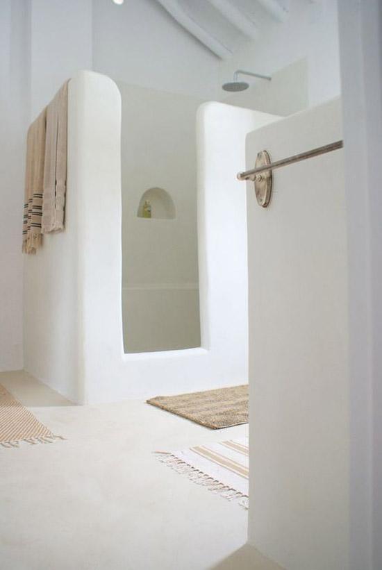 Tadelakt in de badkamer
