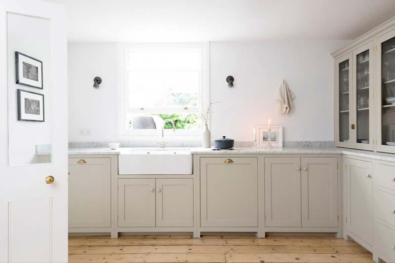 taupe kleur keuken