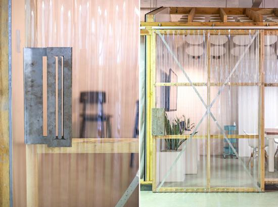 Inrichting van werkstudio The Hallway in Australië