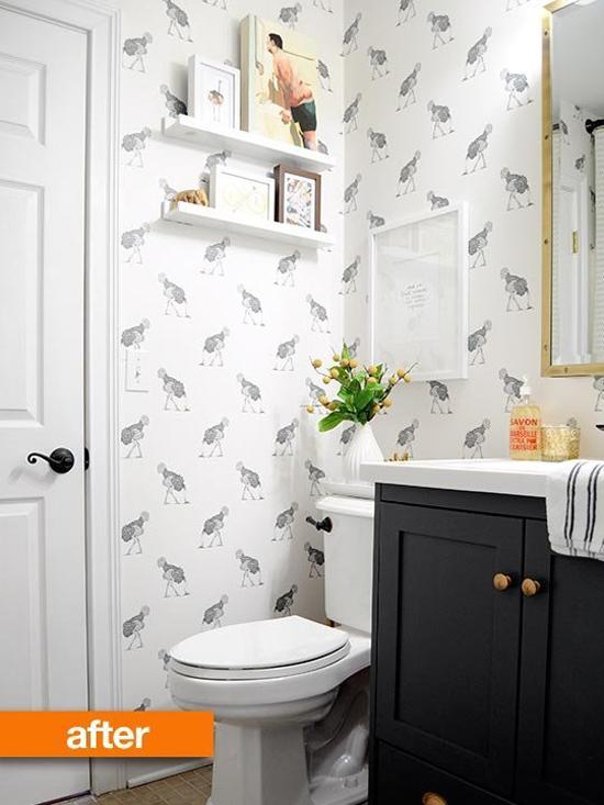 Een Toilet Metamorfose Wooninspiratie