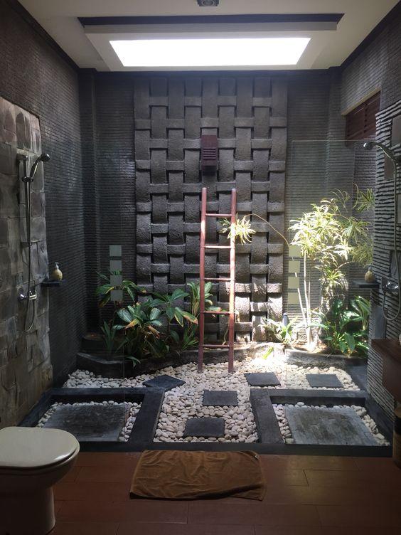 Tropische badkamer wooninspiratie - Decoratie zen badkamer ...