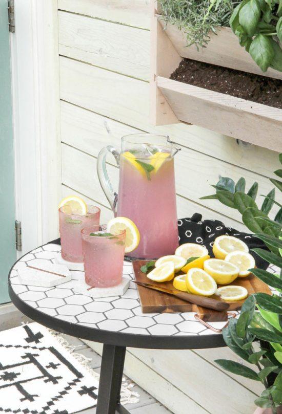tuininspiratie eten en drinken