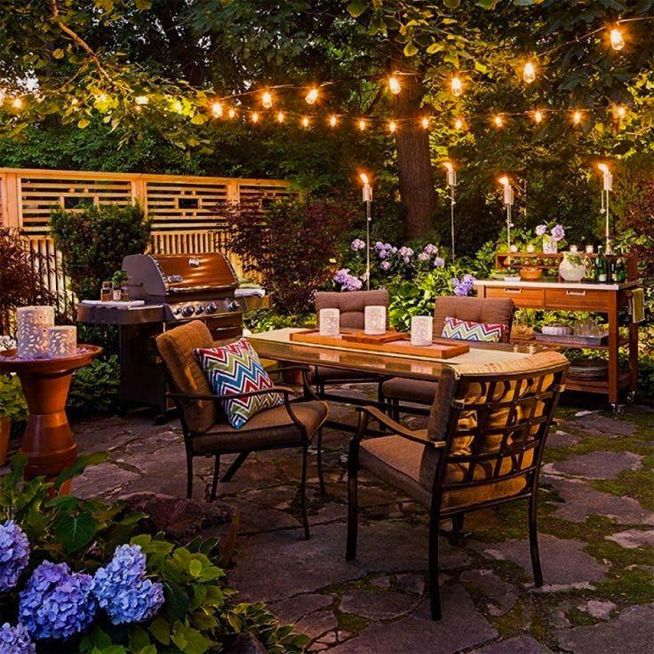 tuinfeest ideeen verlichting