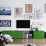 Ideeën voor het ophangen van de TV aan de muur
