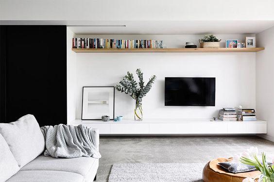 Tv In Muur : Ideeën voor het ophangen van de tv aan de muur wooninspiratie