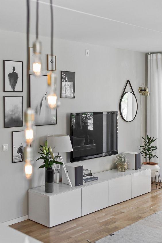 Top Ideeën voor het ophangen van de TV aan de muur | Wooninspiratie YG34