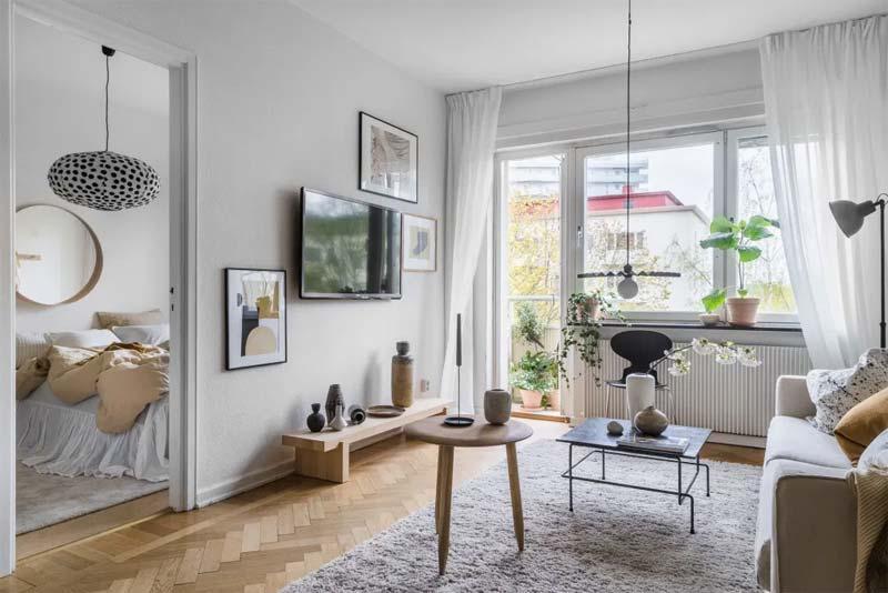 tv ophangen aan muur woonkamer
