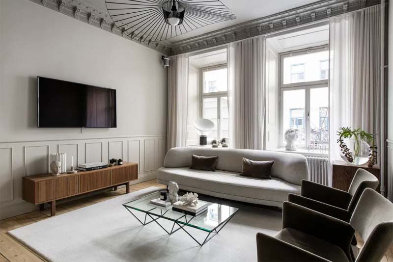 tv ophangen boven tv meubel