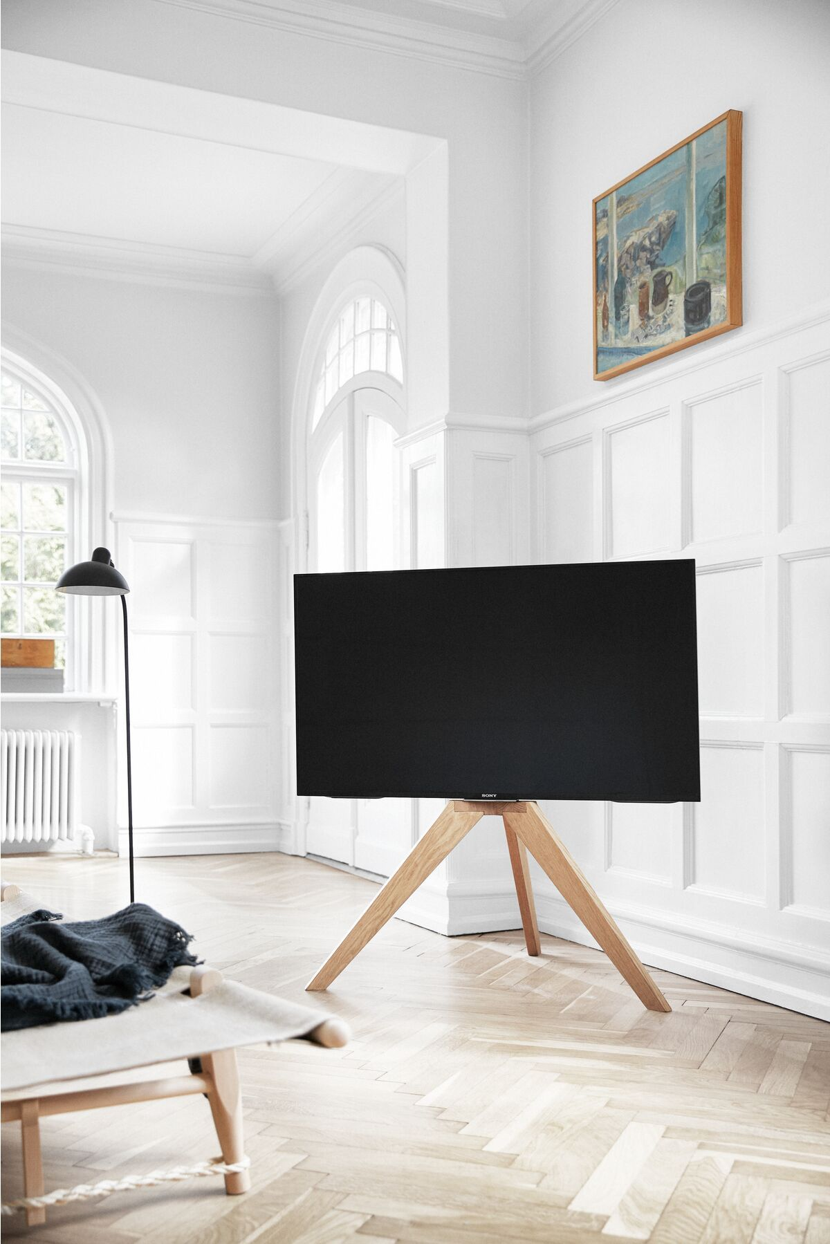 tv standaard hout