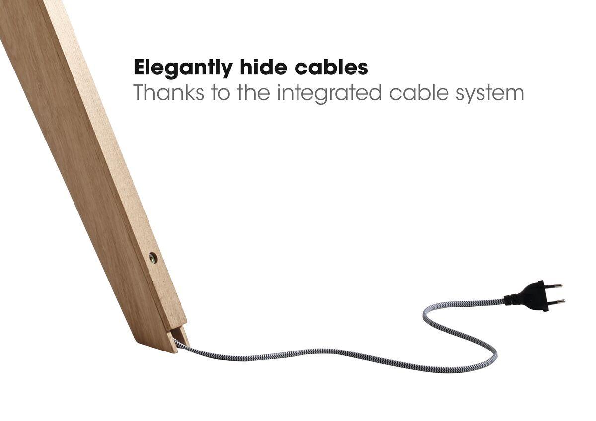 tv standaard kabels wegwerken