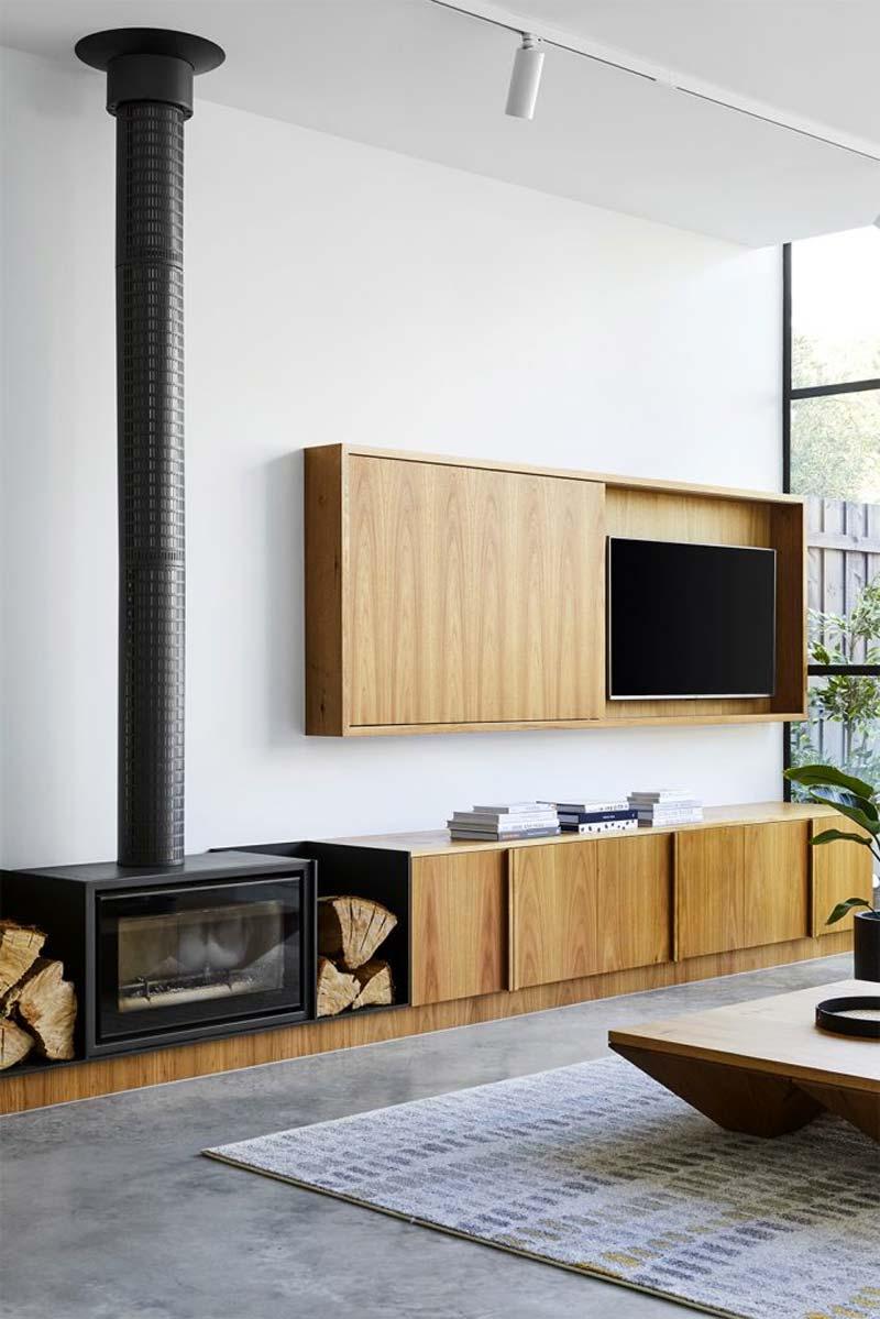 tv verbergen aan de muur