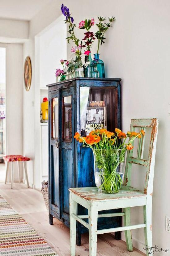 Van je oude meubelkast een echte blikvanger maken