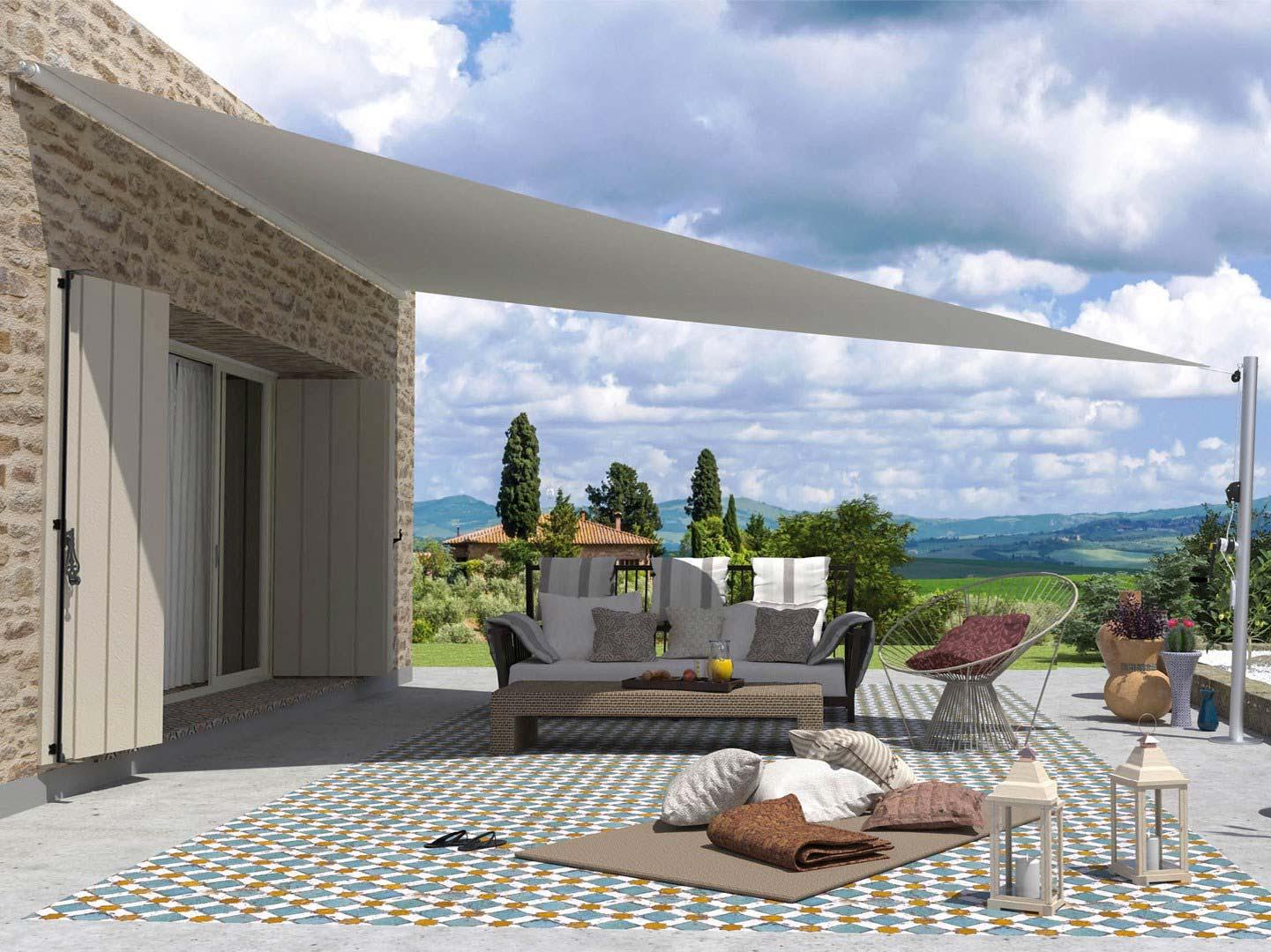 Het mooie terrasscherm VELART van Giulio Barbieri.