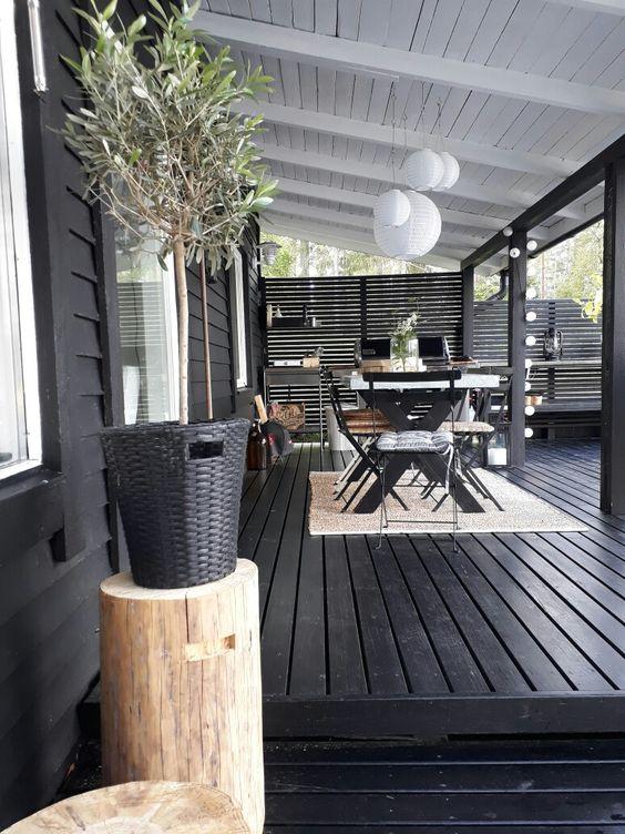 Verhoogd terras bouwen in de tuin
