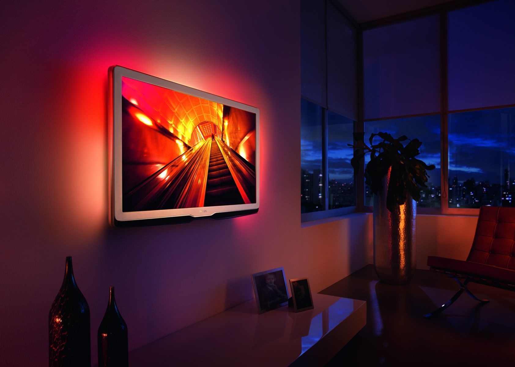 verlichting achter tv