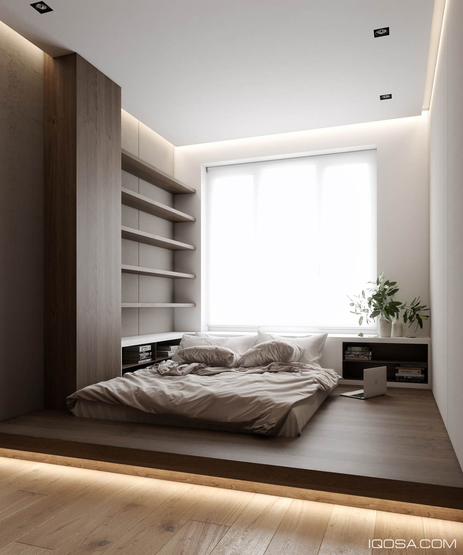 verlichting onder platform bed