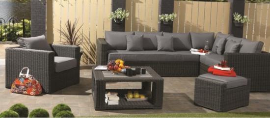 Verschillende soorten loungesets