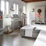 Verschillende stijlen gecombineerd in een woonkamer