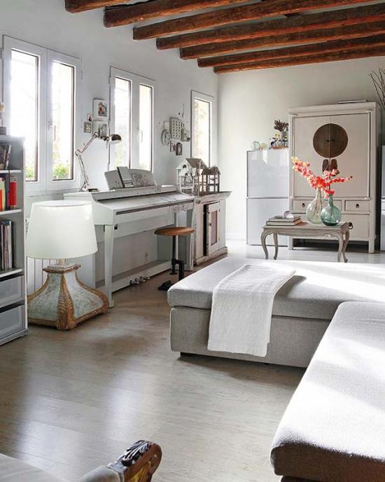 verschillende stijlen gecombineerd in een woonkamer | wooninspiratie, Deco ideeën
