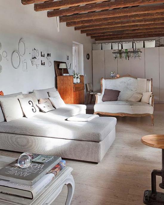 Verschillende stijlen gecombineerd in een woonkamer | Wooninspiratie