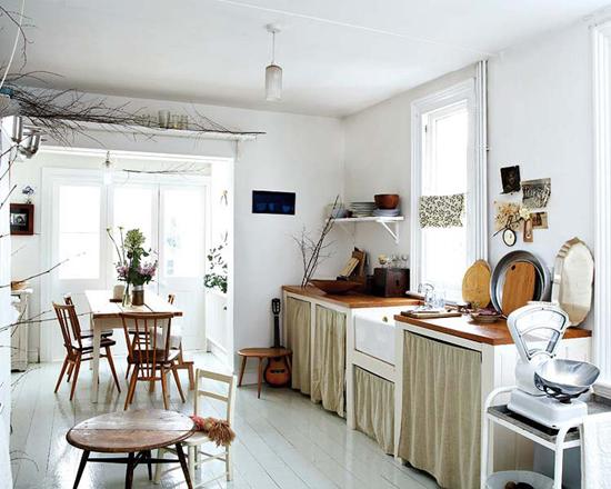 Een victoriaans huis met een prachtige inrichting for Victorian house kitchen ideas
