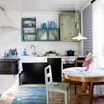 Schattige vintage keuken