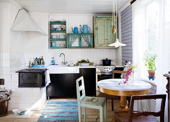 Voorbeeld leuke keukens wooninspiratie - Vintage keukens ...