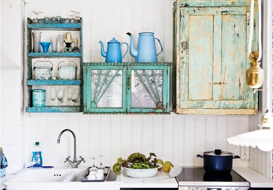 Inrichting Keukenkasten: Mooie keuken inrichting wooninspiratie.
