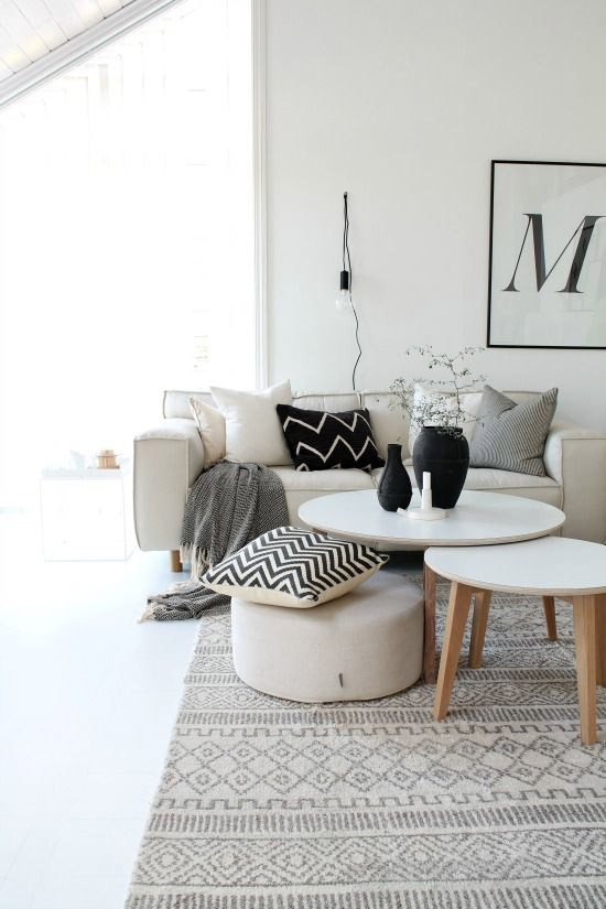 Vloerkleden in Scandinavische stijl  Wooninspiratie