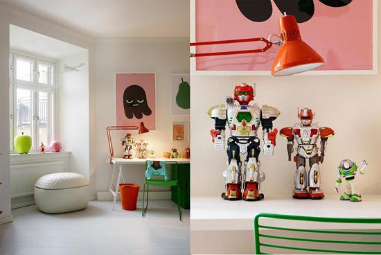 Simpele Vrolijke Kinderkamer : Kinderkamer met vrolijke kleuren wooninspiratie