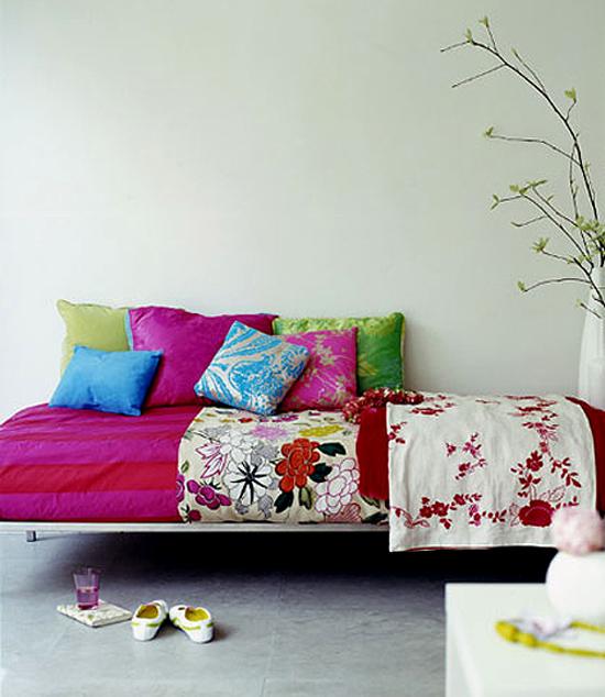 Kleurrijke kussens