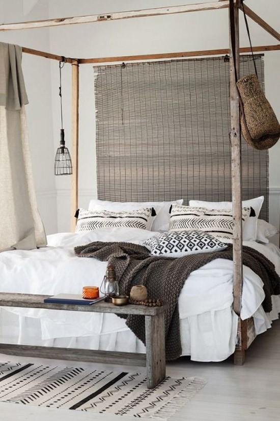 warme slaapkamer inspiratie  wooninspiratie, Meubels Ideeën