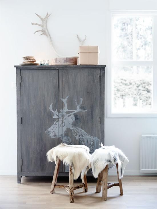 een scandinavische woonkamerinrichting met invloeden van de noordpool wooninspiratie. Black Bedroom Furniture Sets. Home Design Ideas