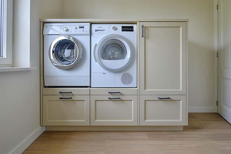 wasmachine kast