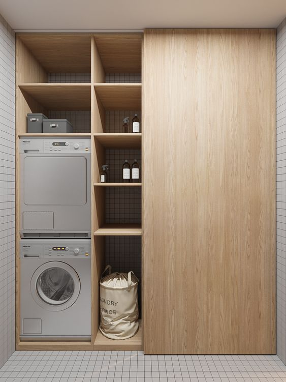 Wasmachine Kast Inspiratie Wooninspiratie