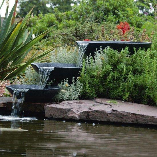 driedubbele waterval