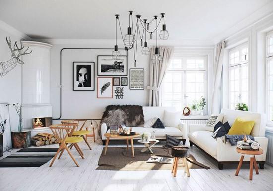 Scandinavisch Appartement Inspiratie : Weer een prachtig scandinavisch huis wooninspiratie