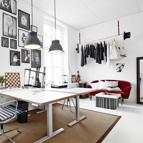 Werkstudio van Katrin Bååth