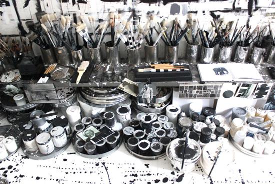 Werkstudio van Tenka Gammelgaard
