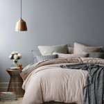 Winterse slaapkamer inrichting