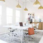 5x Witte bureaustoelen