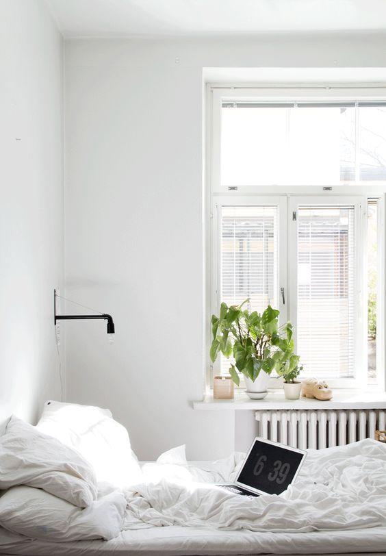 Inspiratie opdoen witte slaapkamer