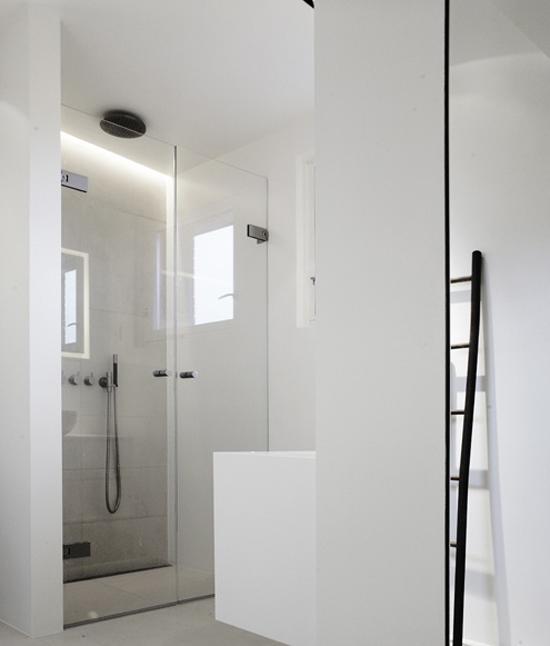 Een witte badkamerinrichting | Wooninspiratie