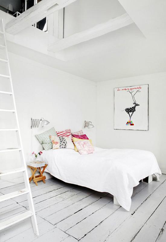 een witte slaapkamer kan nooit misgaan! | wooninspiratie, Deco ideeën