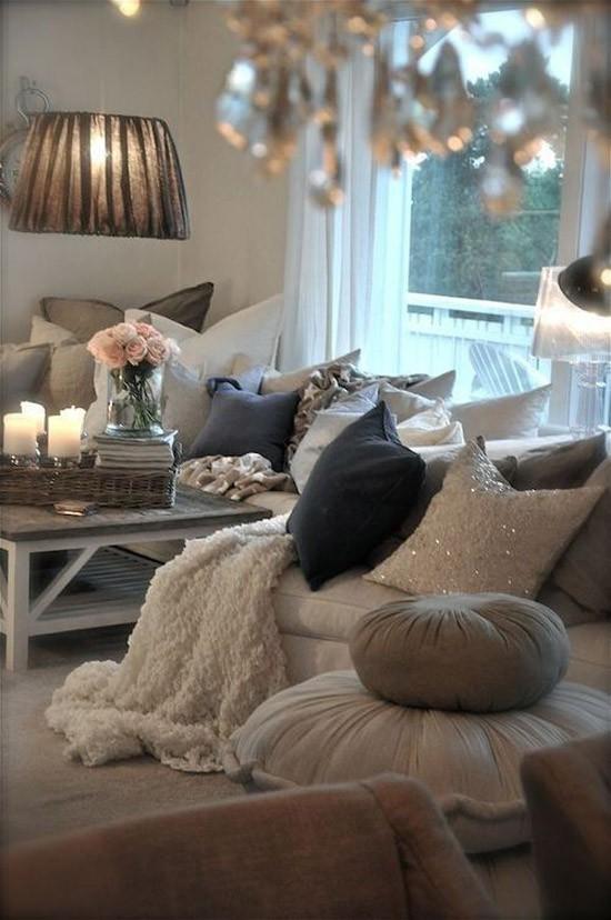 woonkamer met een herfst sfeer wooninspiratie