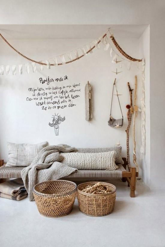 Woonkamer met een herfst sfeer wooninspiratie - Kamer sfeer ...