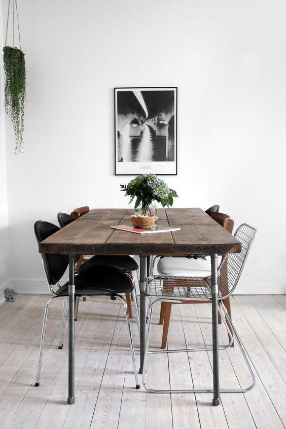 Zelf een houten tafel maken