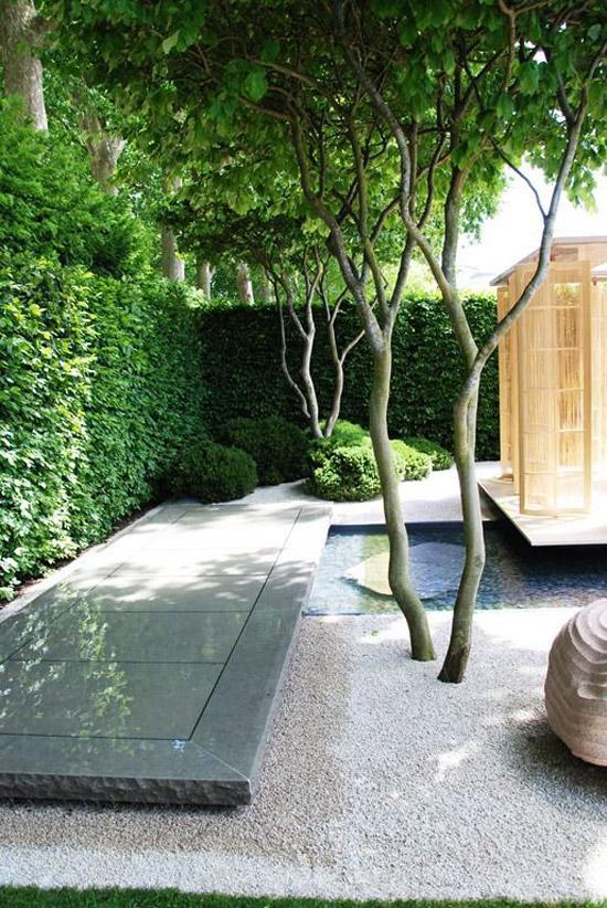 Zen tuin met een twist