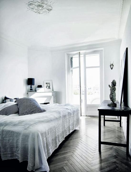 Zwart witte inrichting wooninspiratie for Interieur zwart wit