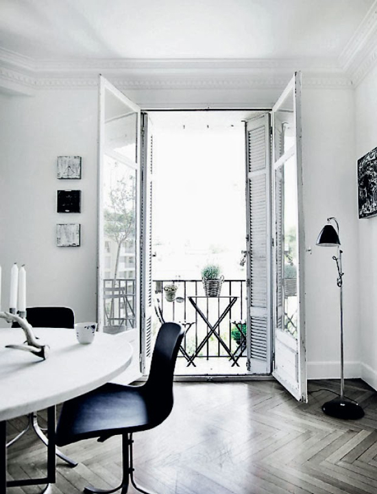 zwart wit interieur wooninspiratie